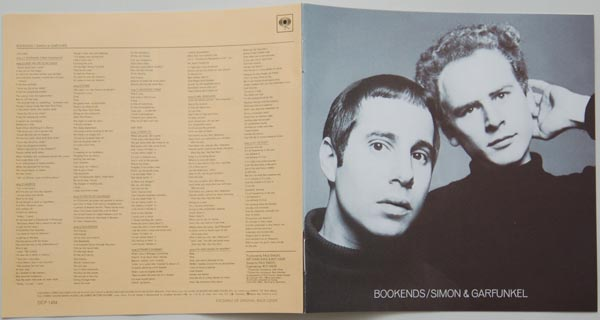 Booklet, Simon + Garfunkel - Bookends