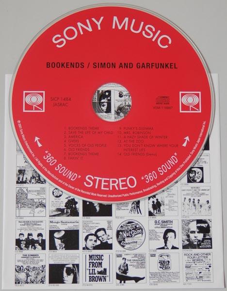 CD, Simon + Garfunkel - Bookends