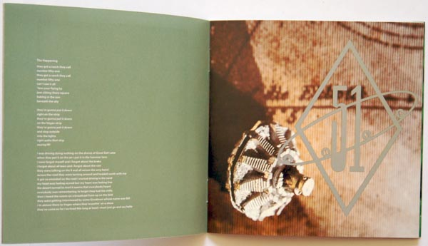 Booklet Pages 4 & 5, Pixies - Bossanova