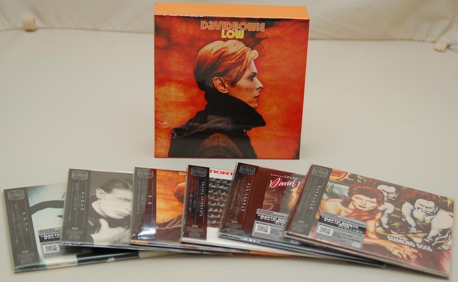 Box contents, Bowie, David - Low Box and Promo Obis