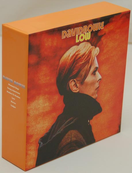 Front Lateral View, Bowie, David - Low Box and Promo Obis