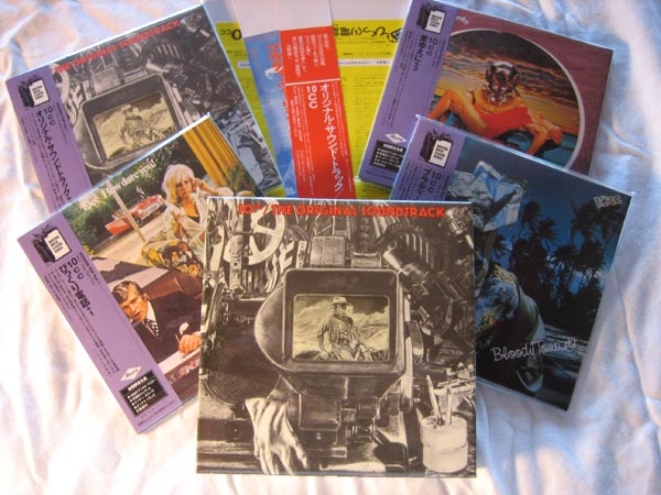 Prom Box, Promo Obis, and the CDs, 10cc - Original Soundtrack Box