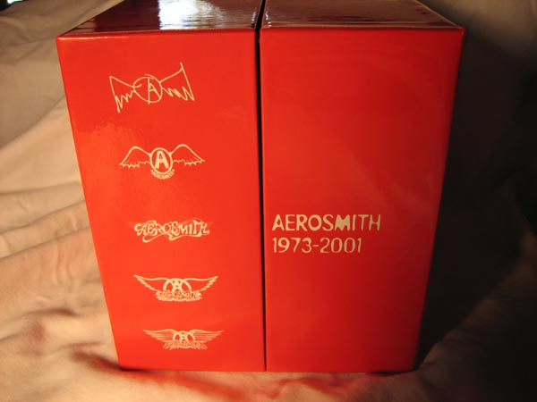 Front Closed, Aerosmith - Aerosmith Box (1973 - 2001)