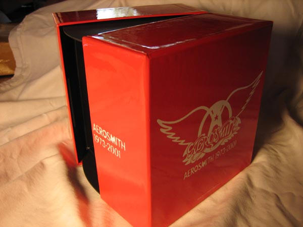 Side Open, Aerosmith - Aerosmith Box (1973 - 2001)