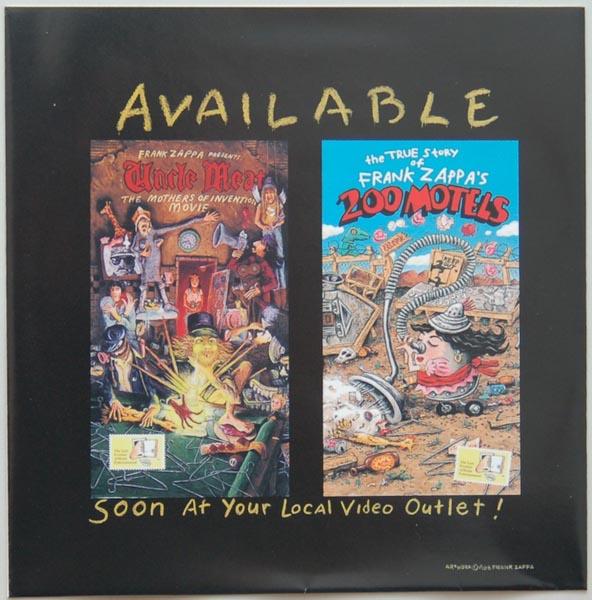 Inner sleeve side A, Zappa, Frank - Broadway The Hard Way