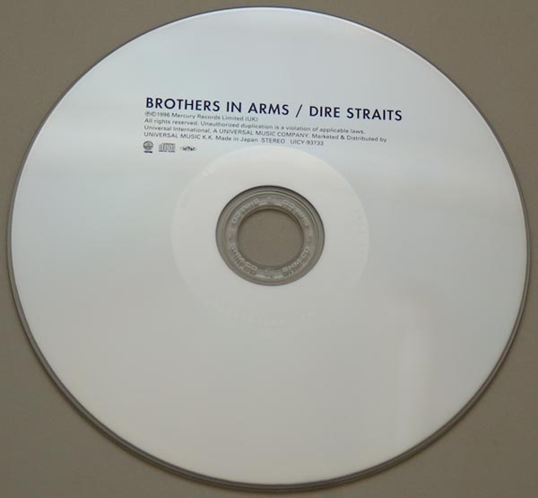 CD, Dire Straits - Brothers In Arms