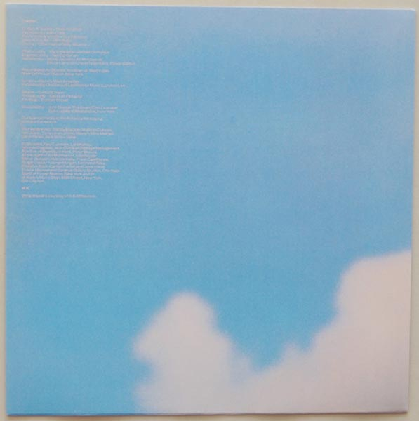 Inner sleeve side A, Dire Straits - Brothers In Arms
