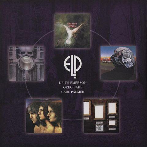 Back of the box, Emerson, Lake + Palmer - Brain Salad Surgery Box