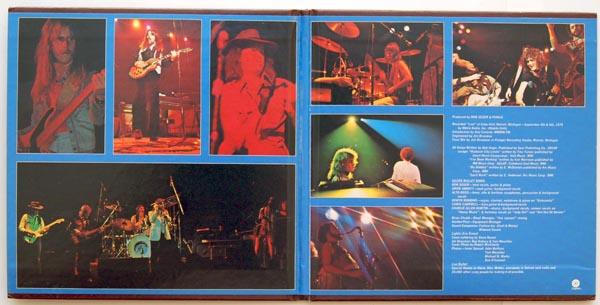 Gatefold open, Seger, Bob (& The Silver Bullet Band) - Live Bullet