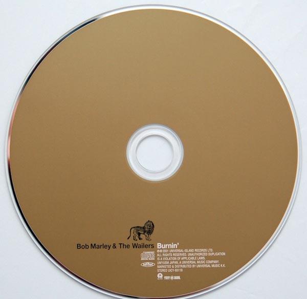 CD, Marley, Bob - Burnin'