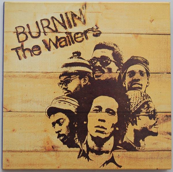 Front cover, Marley, Bob - Burnin'
