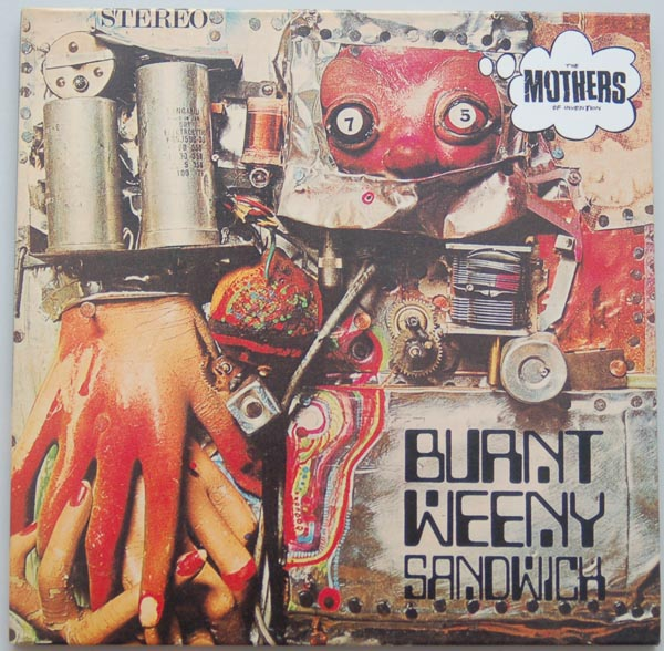 Front cover, Zappa, Frank - Burnt Weeny Sandwich