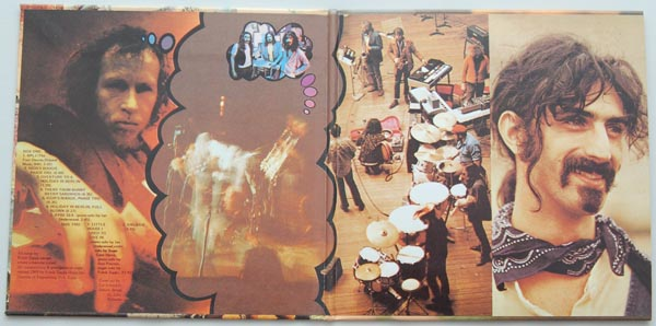 Gatefold open, Zappa, Frank - Burnt Weeny Sandwich