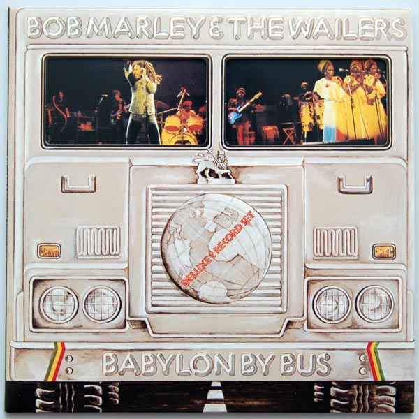 Front cover, Marley, Bob - Babylon by Bus
