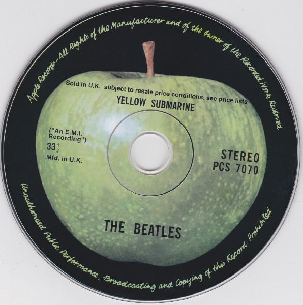 CD, Beatles (The) - Yellow Submarine