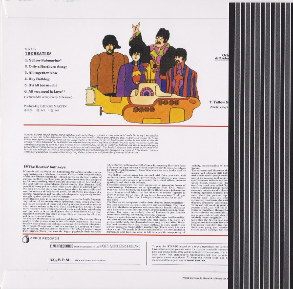back with OBI, Beatles (The) - Yellow Submarine