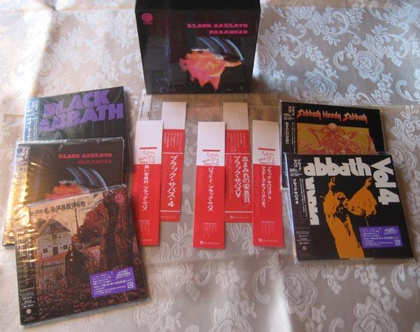 , Black Sabbath - Paranoid Box