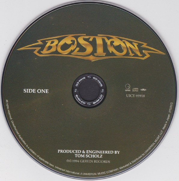 CD, Boston - Walk On