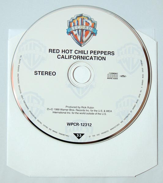 CD, Red Hot Chili Peppers - Californication +1