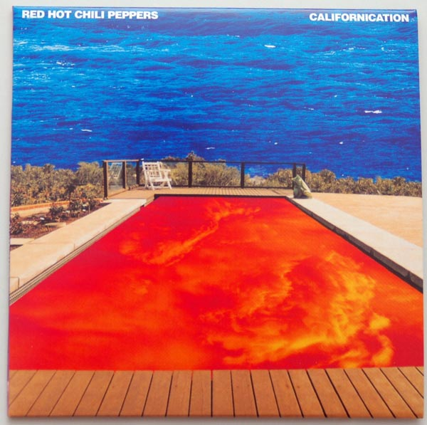 Front cover, Red Hot Chili Peppers - Californication +1
