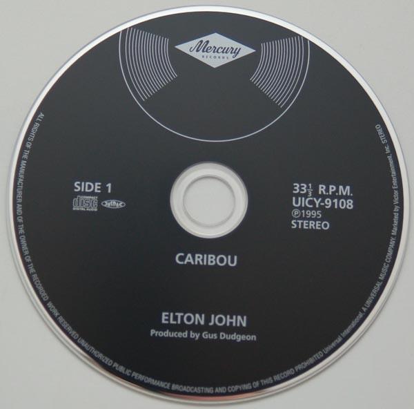 CD, John, Elton - Caribou