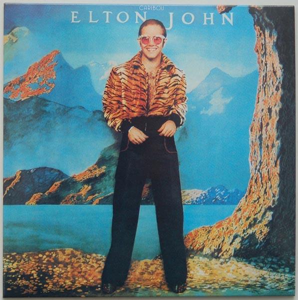 Front Cover, John, Elton - Caribou