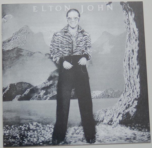 Lyric book, John, Elton - Caribou