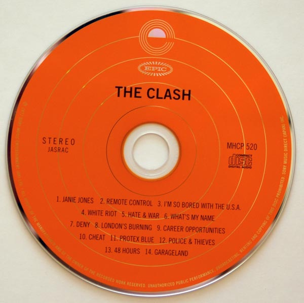 CD, Clash (The) - The Clash