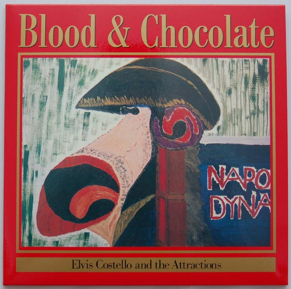 Front cover, Costello, Elvis - Blood and Chocolate
