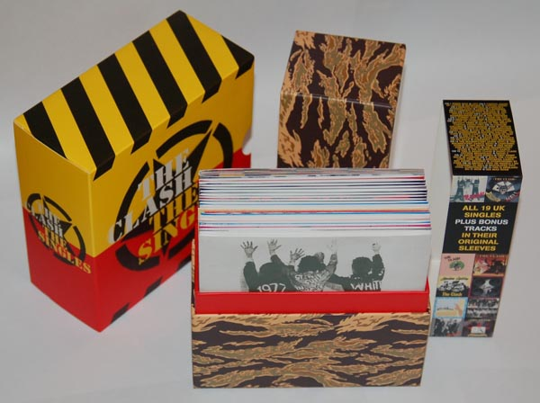 Both boxes, Clash (The) - The Singles