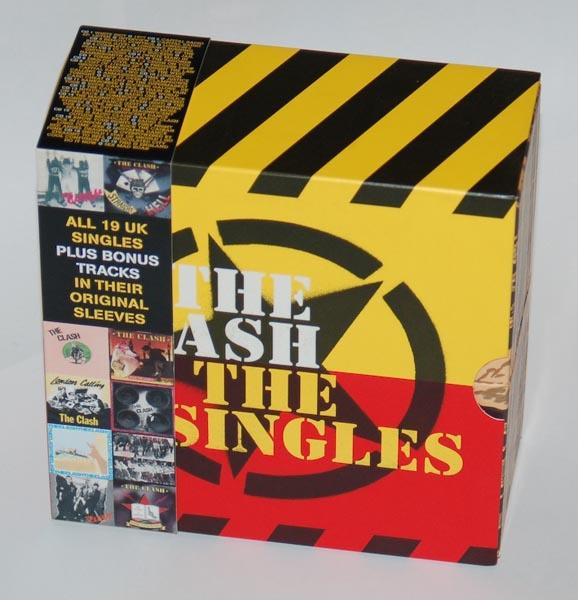 Box with info Obi, Clash (The) - The Singles