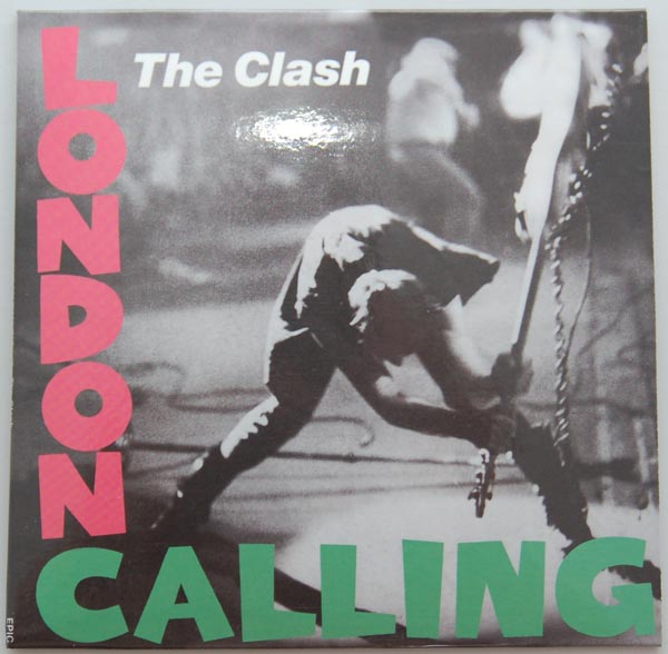 Front cover, Clash (The) - London Calling