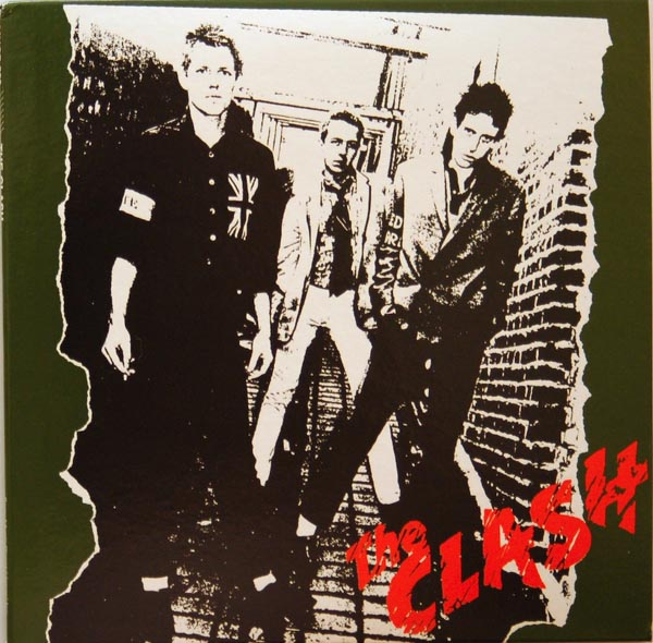 Front Cover, Clash (The) - The Clash