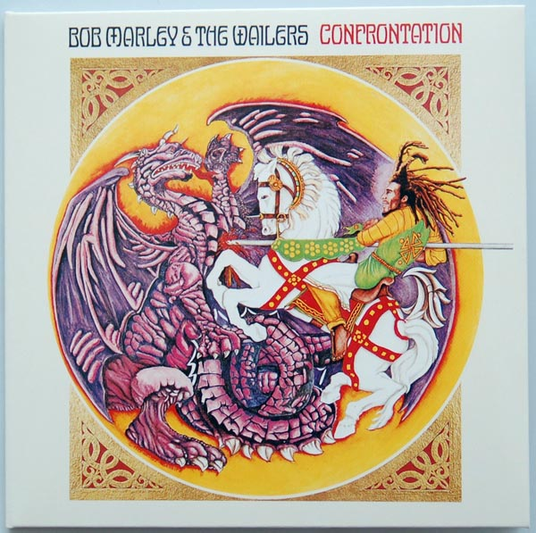 Front cover, Marley, Bob - Confrontation