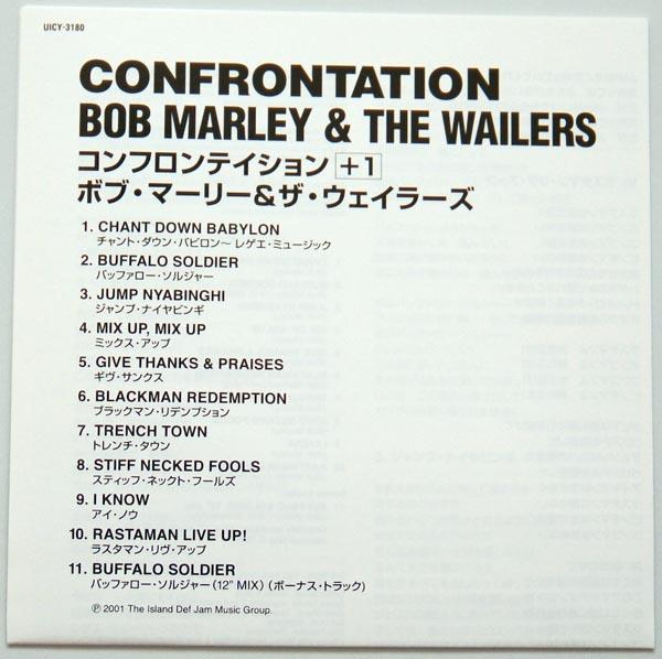 Lyric book, Marley, Bob - Confrontation