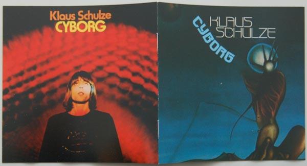 Booklet, Schulze, Klaus  - Cyborg