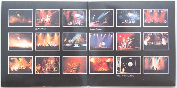 Gatefold open, Thin Lizzy - Live and Dangerous