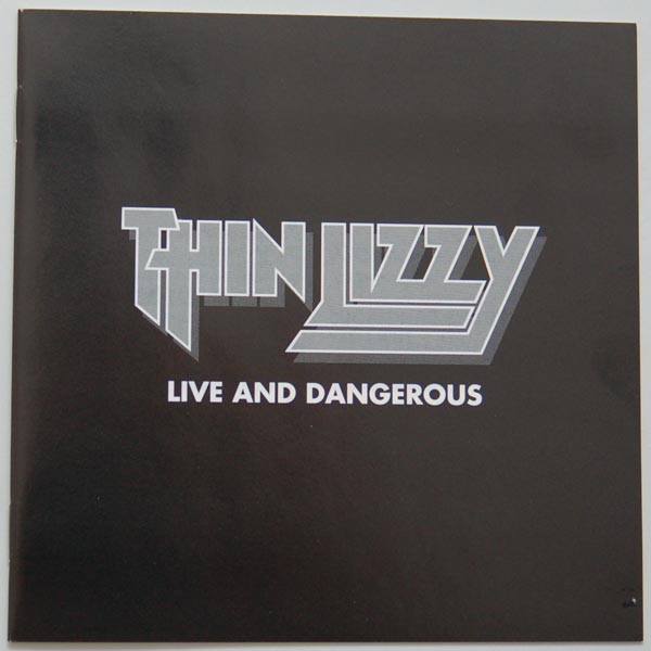 Lyric Book, Thin Lizzy - Live and Dangerous