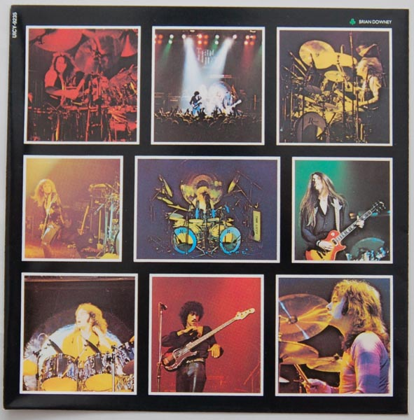 Inner sleve 1A, Thin Lizzy - Live and Dangerous