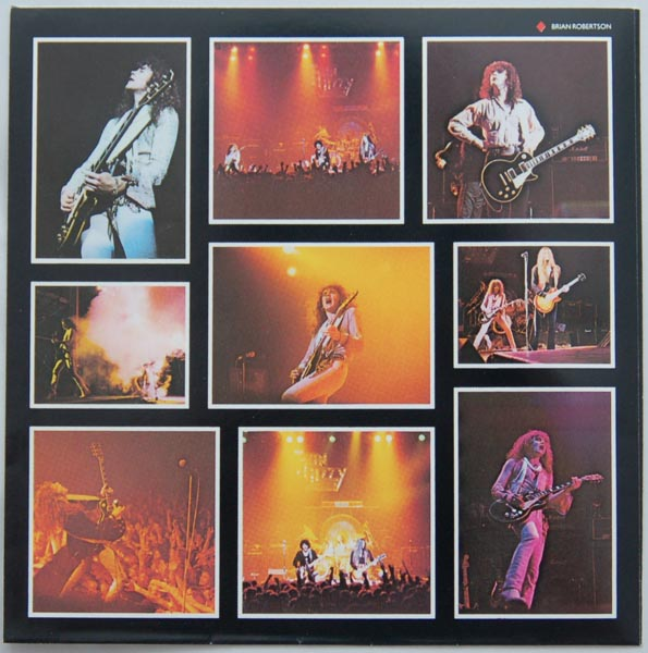 Inner sleve 1B, Thin Lizzy - Live and Dangerous