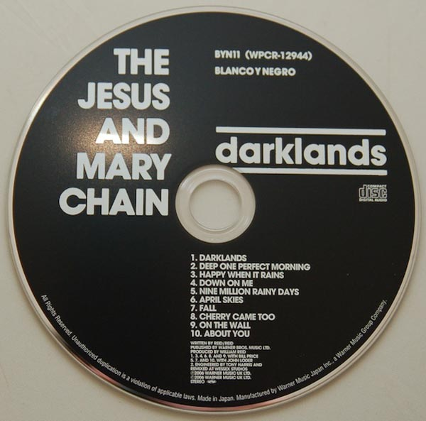 CD, Jesus & Mary Chain - Darklands