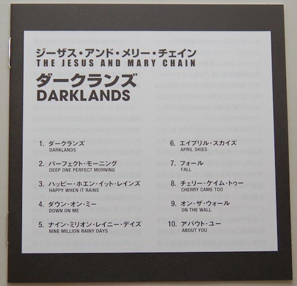 Lyric book, Jesus & Mary Chain - Darklands
