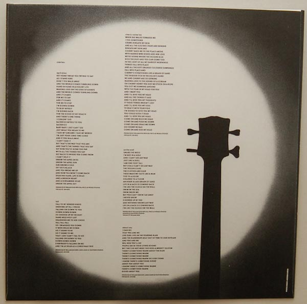 Inner sleeve side A, Jesus & Mary Chain - Darklands