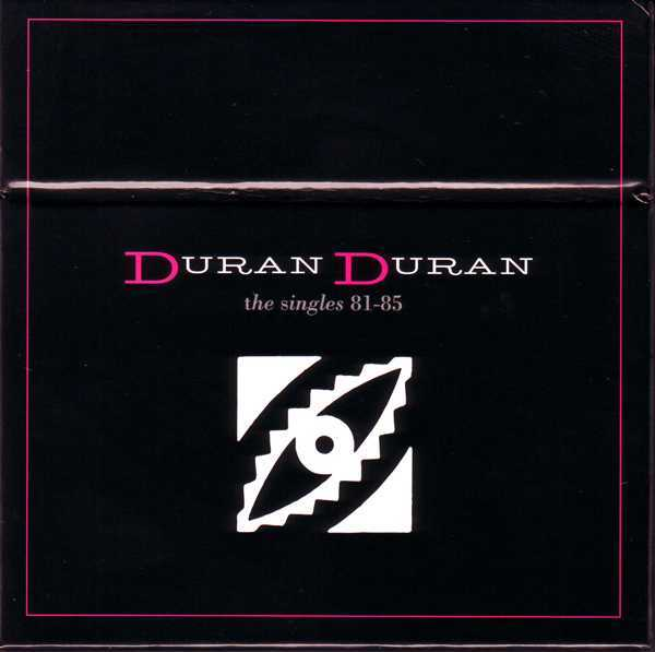 Box [Front}, Duran Duran - The Singles 81-85 Boxset