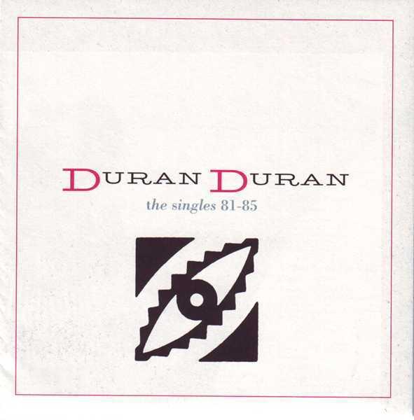 Foldout Insert & Poster, Duran Duran - The Singles 81-85 Boxset
