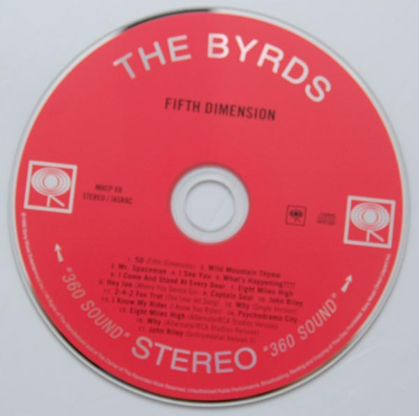 CD, Byrds (The) - Fifth Dimension +6