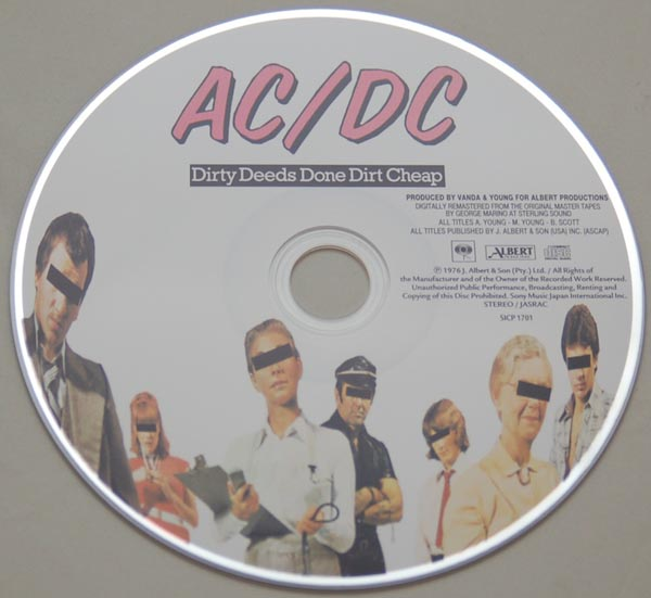 CD, AC/DC - Dirty Deeds Done Dirt Cheap