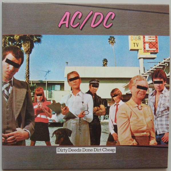 Front Cover, AC/DC - Dirty Deeds Done Dirt Cheap