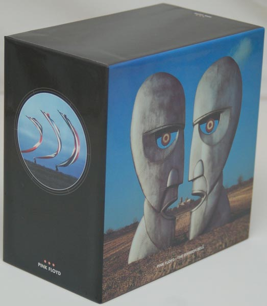 Front Lateral View, Pink Floyd - Division Bell Box