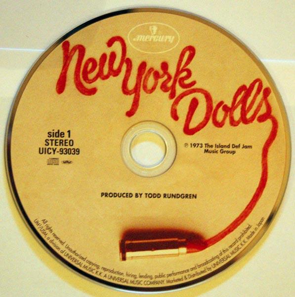CD, New York Dolls - New York Dolls